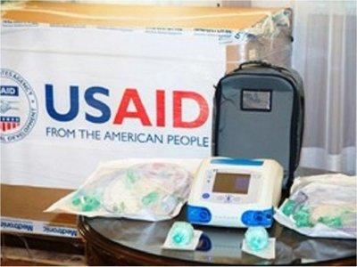 Gobierno formaliza entrega de donación de 30 respiradores de EEUU