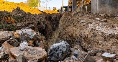 La Nación / Reinician obras de desagüe pluvial sobre Primer Presidente