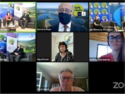 Reactivación turística: Senatur y BID lanzan cursos sobre bioseguridad