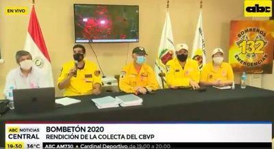 """""""Bombetón 2020"""" permitió recaudar más de G. 2.900 millones"""