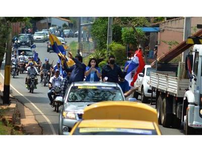 Llanistas hicieron demostración de fuerza en Luque por festejo