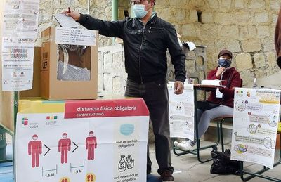El candidato de Evo es el virtual ganador en Bolivia