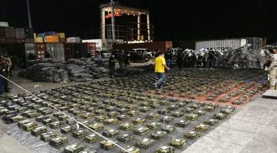 Carga histórica de cocaína: un solo container ronda los US$ 600 millones, conteo seguirá hoy