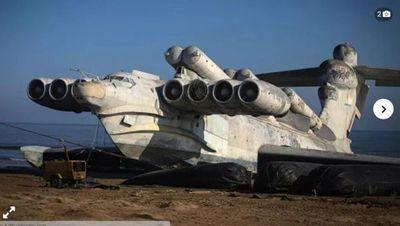 Así es el ekranoplano, la nave de guerra soviética que disparaba misiles y viajaba a 400 kilómetros por hora
