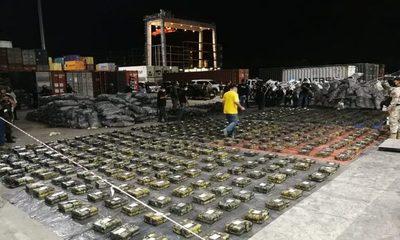 Descubren más de 2.000 kilos de droga en puerto privado