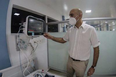 Inauguran el Pabellón de Contingencia para pacientes con COVID-19 en el Hospital Regional de Ciudad del Este