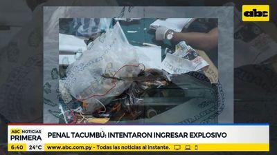 Intentaron ingresar dinamita al penal de Tacumbú