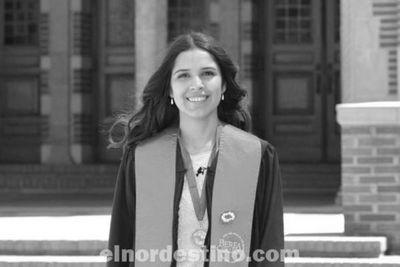 Estudiante paraguaya sobresaliente: oriunda de Tobatí, culminó dos carreras y va por su maestría en Estados Unidos