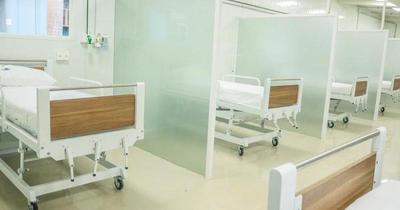 Habilitan pabellón de contingencia para casos Covid-19 en Hospital de CDE