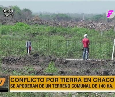 Conflicto por tierras en Chaco'i