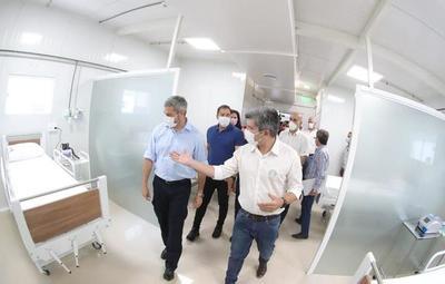 En CDE inauguran nuevo pabellón de contingencia para pacientes con Covid-19