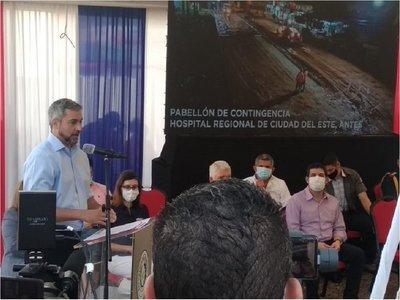 Mario Abdo dice que no podrá superar obras de Alfredo Stroessner en Alto Paraná