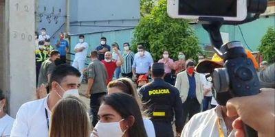 """""""Yo no soy la justicia"""", dijo Mario Abdo a seguidores de Ulises Quintana"""
