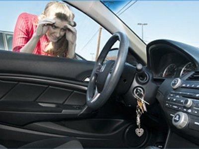 Dejó a su bebé de 9 meses en el auto y se olvidó de la llave adentro
