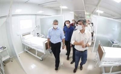 Activan 48 camas de internación en nuevo pabellón de contingencia