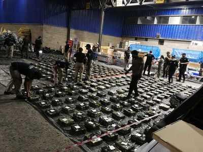 Más de 3.000 kilos de cocaína incautada en puerto de Villeta: Habría provenido de Bolivia y tenía como destino Israel