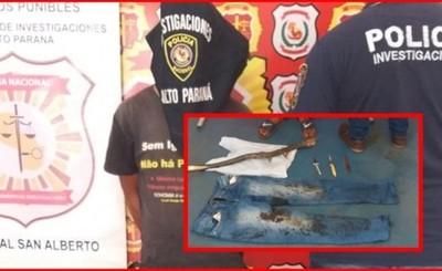 Presunto homicida de septuagenario es atrapado por la policía