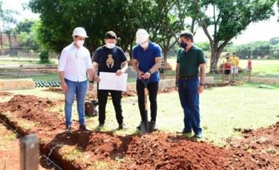 Inicia construcción de nuevo dispensario municipal en San Vicente