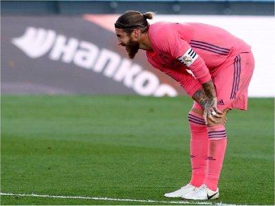 Sergio Ramos, descartado en el Real Madrid