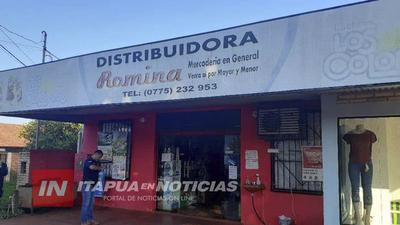 ASALTAN DISTRIBUIDORA ROMINA DE HOHENAU