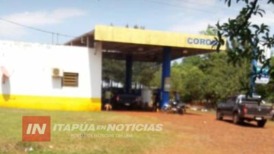 ASALTAN ESTACIÓN DE SERVICIO DE ITAPÚA POTY