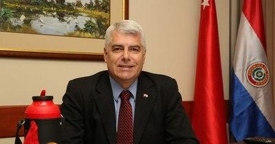 La Nación / Wiens pidió al Senado apoyo a préstamos para obras anexas a segundo puente con Brasil