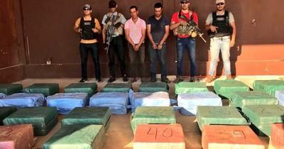 La Nación / Mayores incautaciones de cocaína fueron superadas por histórica carga de Villeta