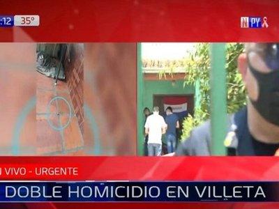 Policía investiga doble homicidio en la ciudad de Villeta
