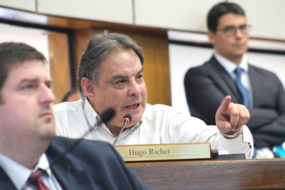 Hugo Richer ratifica que responder al discurso de un político con una denuncia penal 'es peligroso'