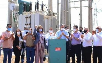 Inauguran nueva Subestación de ANDE de 66 kV en Minga Porã