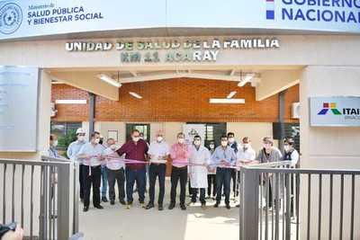 Gobierno entrega a Alto Paraná obras por más de G 26.600 millones financiadas por ITAIPU