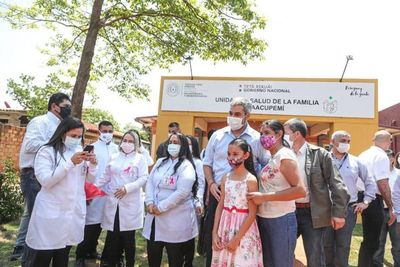 Habilitan tres nuevas Unidades de Salud de la Familia en Alto Paraná