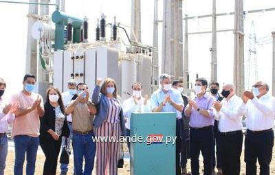 Gobierno inaugura nueva subestación de ANDE en Minga Porã