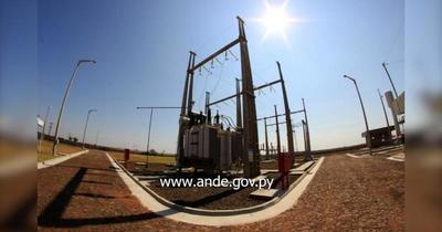 Inauguran subestación de la ANDE de 66 kV en Minga Porã