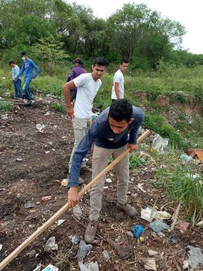 Alto Paraguay: Jóvenes dan lección de limpieza en Toro Pampa
