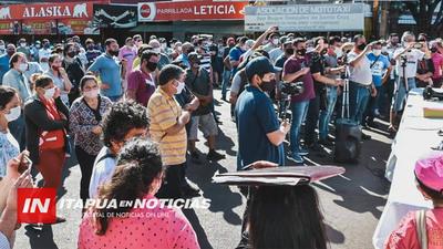AUTORIDADES SE SUMAN A LA MOVILIZACIÓN DE MAÑANA EN ENCARNACIÓN