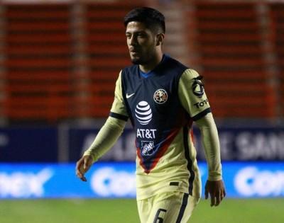 Un incómodo momento para Sergio Díaz en América