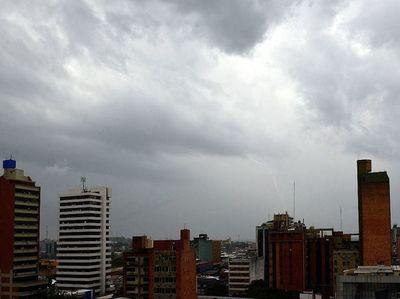 Alerta por lluvias y tormentas para la región Occidental