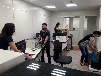 Se inicia mudanza a la nueva sede judicial de CDE