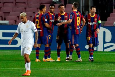 Barcelona muestra su contundencia en el inicio de la Champions