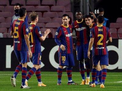 Barcelona se estrena con goleada