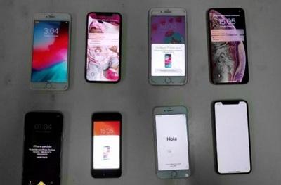 Detienen a ladrones de celulares