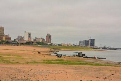 Río Paraguay registra pequeño aumento luego de lluvias