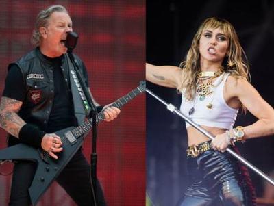 Miley Cyrus está trabajando en un álbum de covers de Metallica