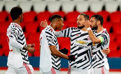 Manchester United saca chapa ante el PSG