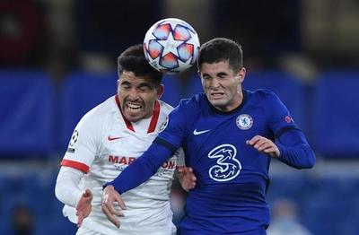 Chelsea y Sevilla no consiguen sacarse ventajas en el estreno