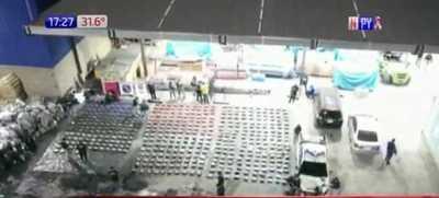Villeta: Cocaína incautada ya llega a 2.331 kilos y aún no terminan los controles