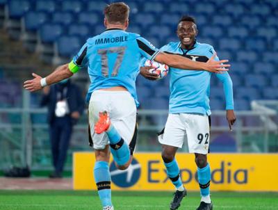 Lazio hace pesar su localía y supera al Dortmund