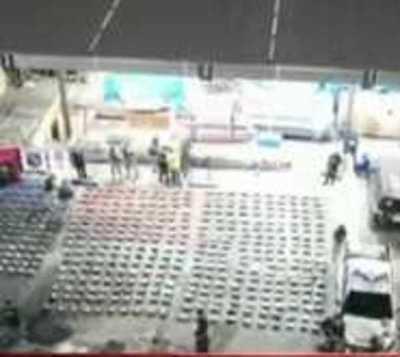 Incautación en Villeta ya suma a 2.331 toneladas de cocaína