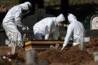 HOY / Brasil suma 661 nuevas muertes por COVID-19